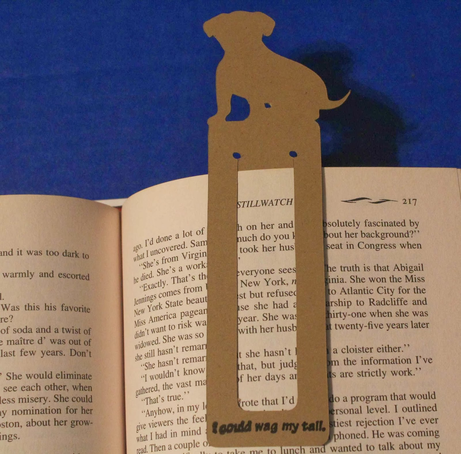 24aad62f1e938c Created this Clean   Simple CAS Dog Bookmark using Animal Kingdom Cricut  cartridge.