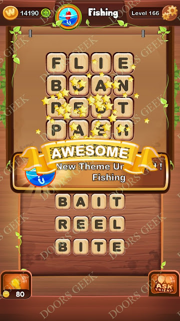 Word Bright Level 166 Answers, Cheats, Solutions, Walkthrough for android, iphone, ipad and ipod