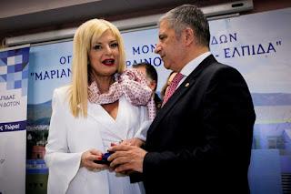 Ο Γιώργος Πατούλης δεν στηρίζει τη σύζυγό του για το δήμο Αμαρουσίου.