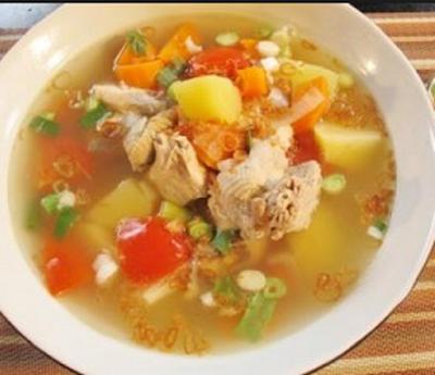 Resep sop Ayam Spesial Enak
