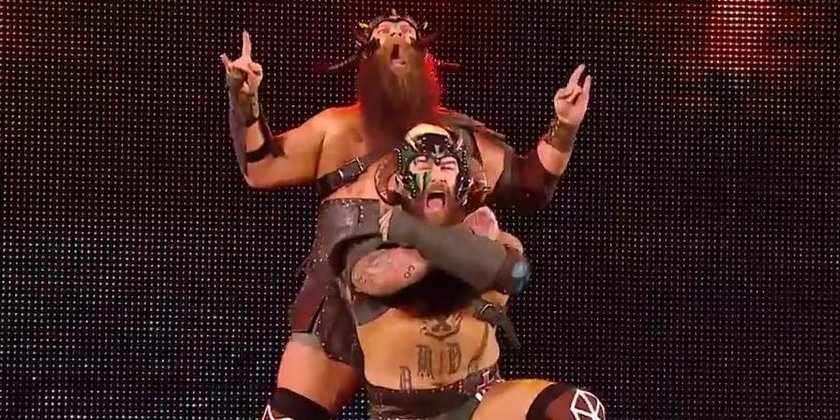 Update On The Viking Raiders' NXT Status And The NXT Tag Team Titles ** SPOILER **