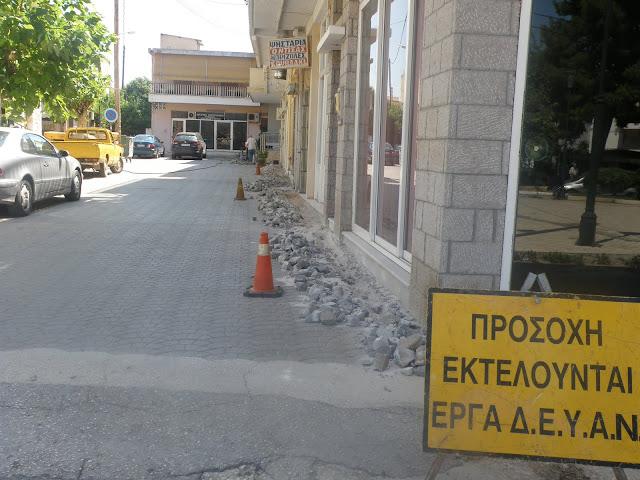ΔΕΥΑ Ναυπλίου: Ολοκληρώνονται  οι εργασίες για την υδροδότηση της Αγ. Τριάδος με νερό Λέρνης