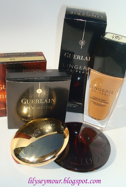 Guerlain Foundation and Terracotta Bronzing Powders