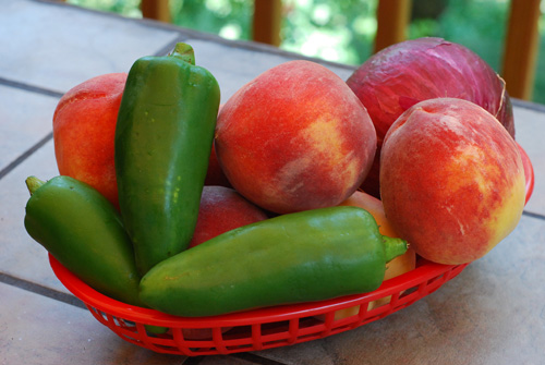 peach and jalapeno salsa