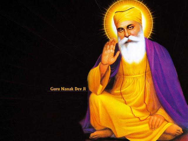 wallpaper of guru nanak