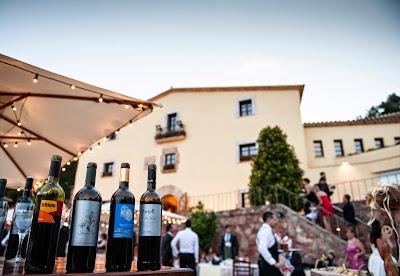 Bufet de vinos boda