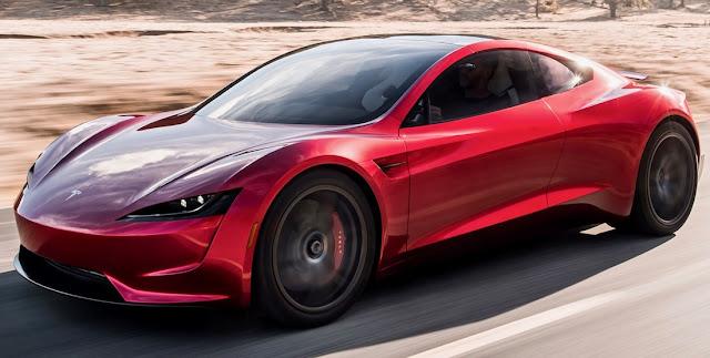 2018年時点で世界最速の車はテスラ・ロードスター