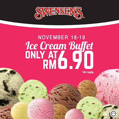 Swensen's Ice Cream Buffet Promo