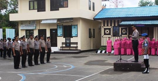 Tutup Tahun 2016, 33 Orang Personil Polres, Selayar ,Naik Pangkat