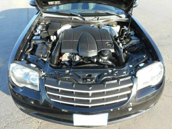 chrysler crossfire srt6 engine. there is something fishy with this advertthe underhood pic shows a different grill and non srt enginei dunno chrysler crossfire srt6 engine