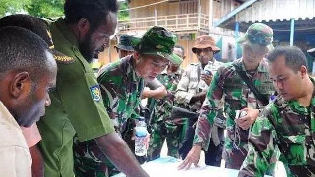Separatis Bersenjata Papua Bikin Jebakan untuk TNI