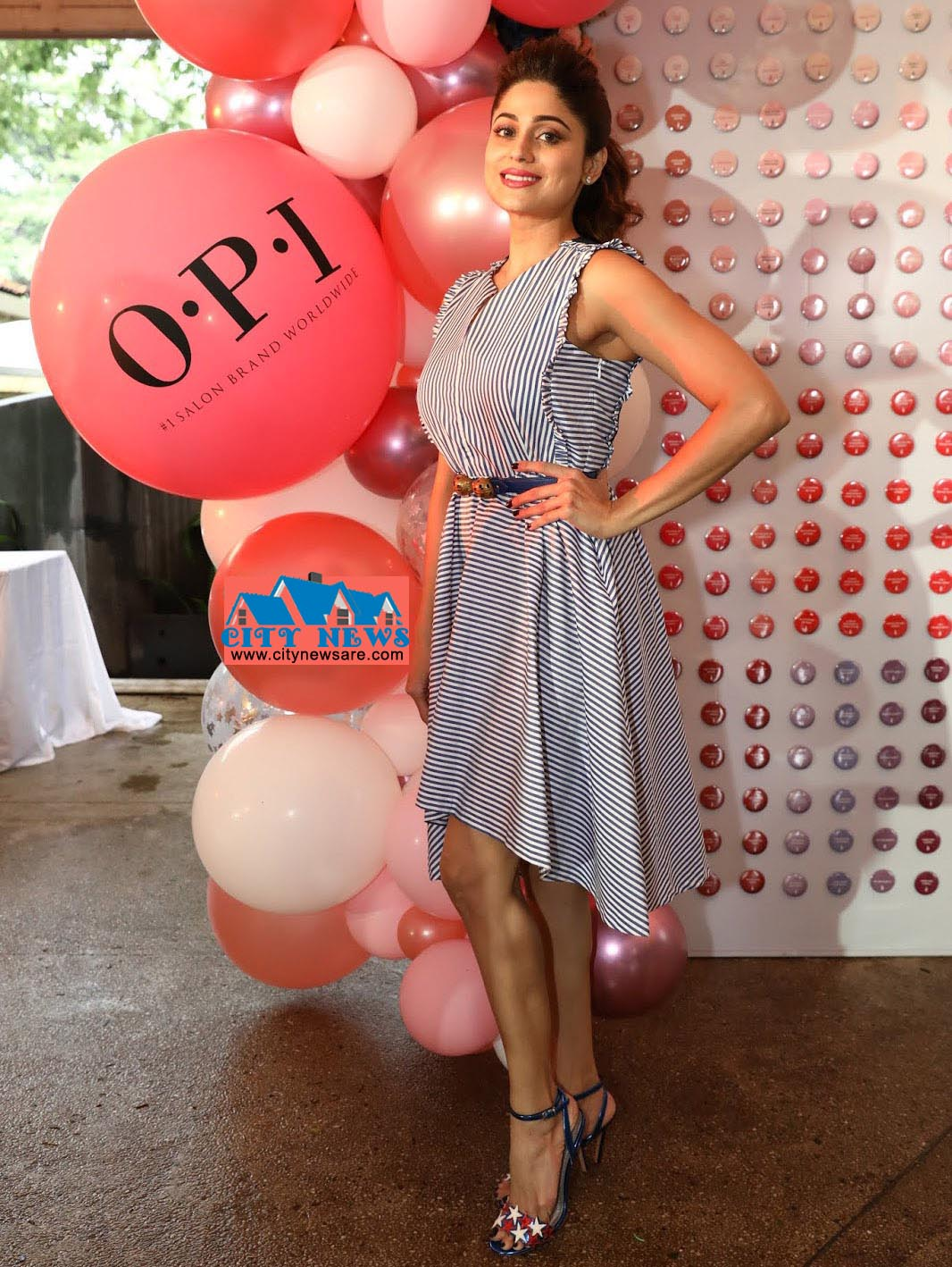 Shamita Shetty at the OPI Gel Color Launch