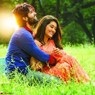 Pooja Jhaveri romancing Vijay Devarakonda in movie Dwaraka.jpg