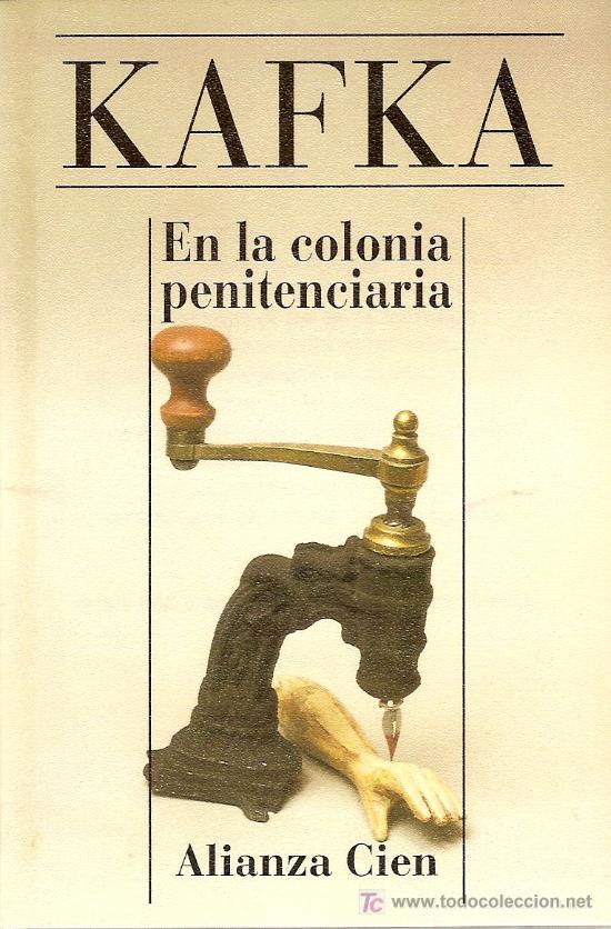 Portada del libro en la colonia penitenciaria de kafka epub y pdf