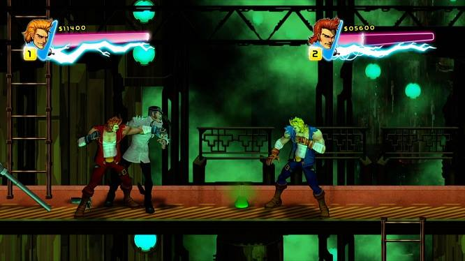 Double Dragon Neon game pc