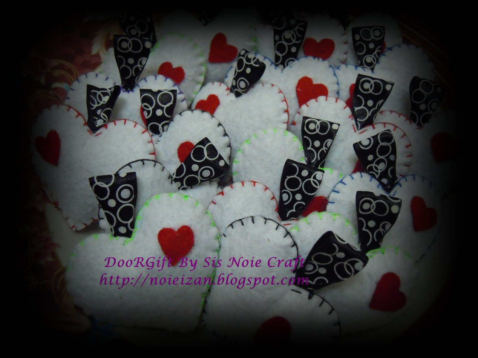 Wedding Door Gift Murah: :. Door Gift Felt Craft : Cantik Dan Murah! .: