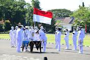 Kasal Pimpin Upacara Prasetya Perwira Diktukpa TNI AL Angkatan ke 49