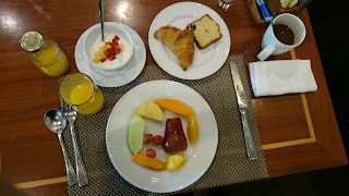 Breakfast at Renaissance Riverside Hotel Saigon