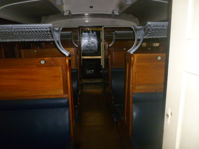 Centenary Carriage 376 interior