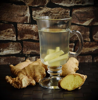 Ginger Tea and Ginger Water