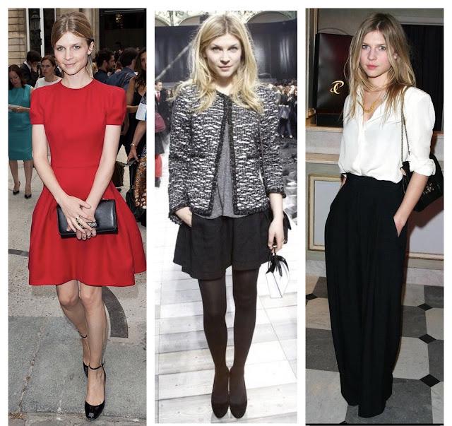 Moje modowe inspiracje kto mnie inspiruje inspirować się Clémence Poésy jak znaleźć swój styl gdzie szukać inspiracji moda francuski szyk paryski francuska aktorka Francuzka