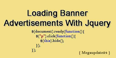 Make Loading Banner Advertisements With Jquery