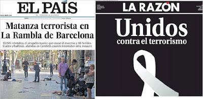 Ο διεθνής Τύπος για το μακελειό της Βαρκελώνης