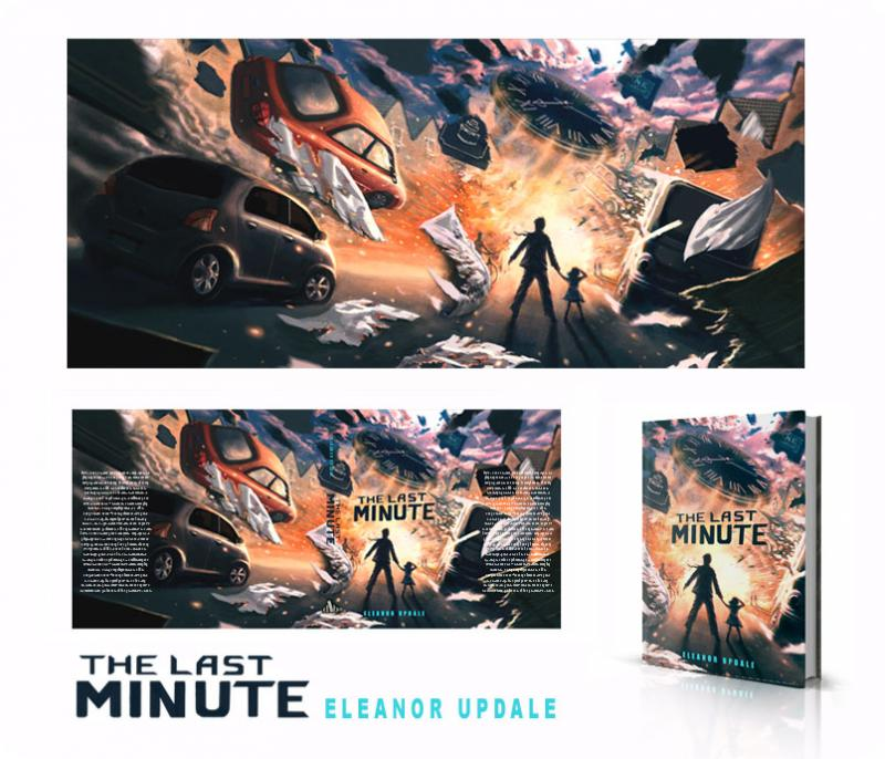 Full jacket of A Last Minute by Eleanor Updale