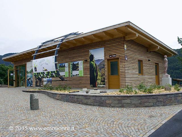 Green Grill: punto informazioni sulla Val di Cembra (Trento) e punto vendita prodotti tipici cembrani.