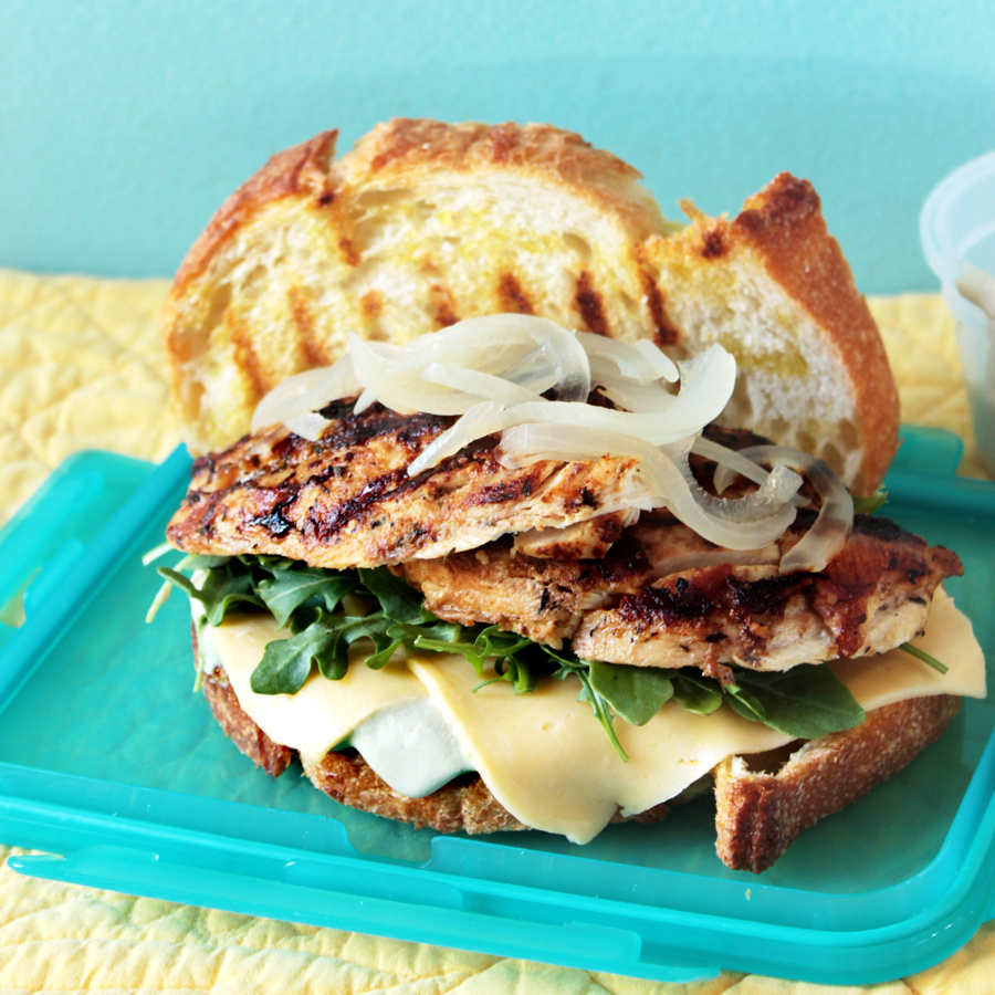 Food Nasty: Deconstruct To Reconstruct Picnic Sandwich