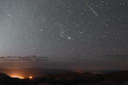 Penjelasan Proses Terjadinya Hujan Meteor