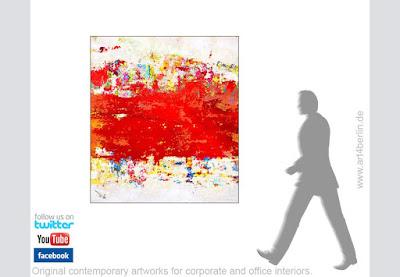 große abstrakte Bilder