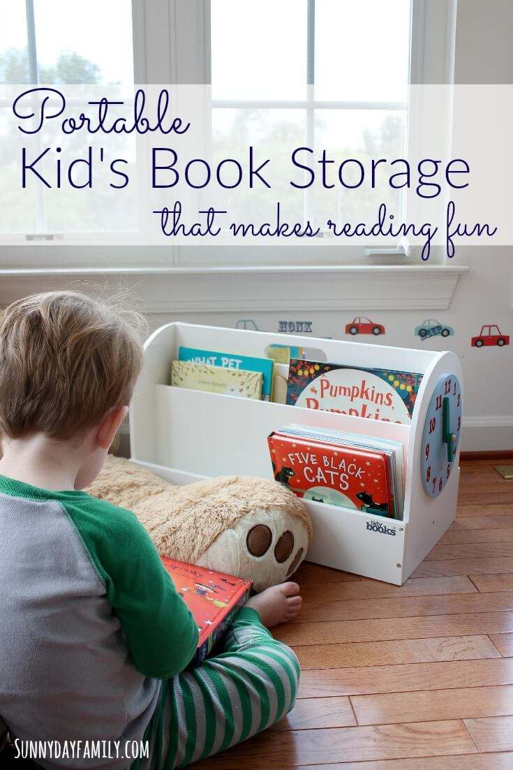 Portable Kidu0027s Book Storage that Makes Reading Fun : child book storage  - Aquiesqueretaro.Com