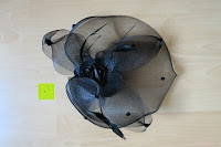 Erfahrungsbericht: Valdler Damen Fascinator Hut Mini-Hut Blumen Tüll Netz Fasching Haarschmuck