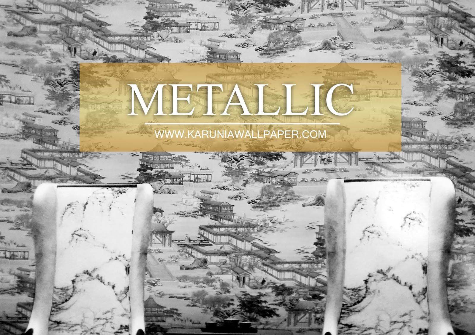 jual wallpaper dinding metalik surabaya karuniawallpaper