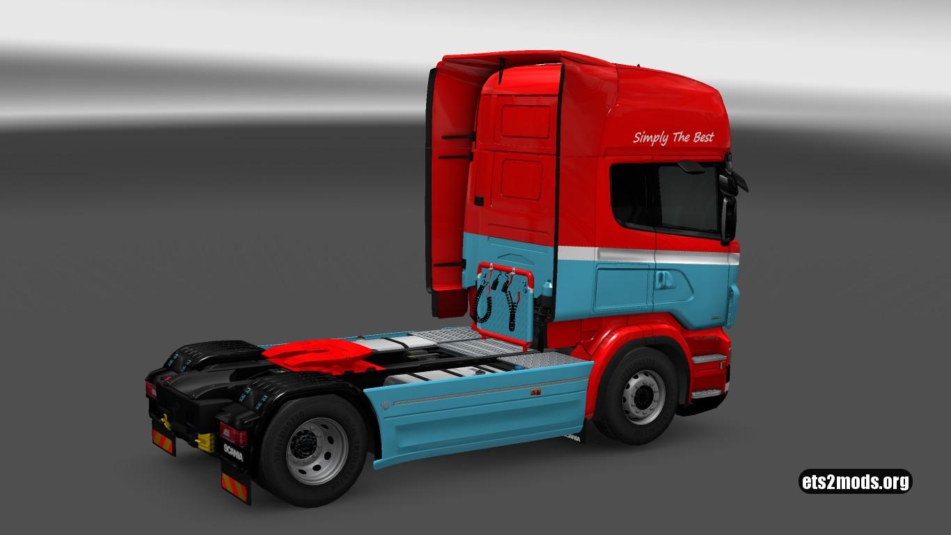 Scania RJL Holland Style Skin