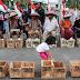 Peserta Aksi Semen Kaki di Depan Istana Merdeka Meninggal Dunia