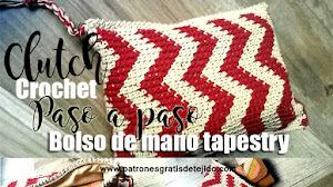Cómo Tejer un Clutch o Bolso de mano en Tapestry / Reto de mayo