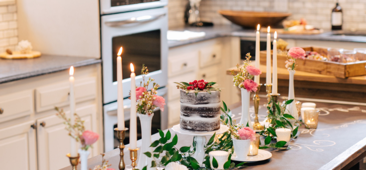 an intimate diy at home anniversary party the perfect palette