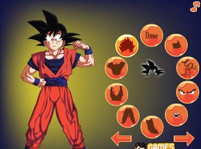 Juego De Vestir Goku Dragón Ball Kai