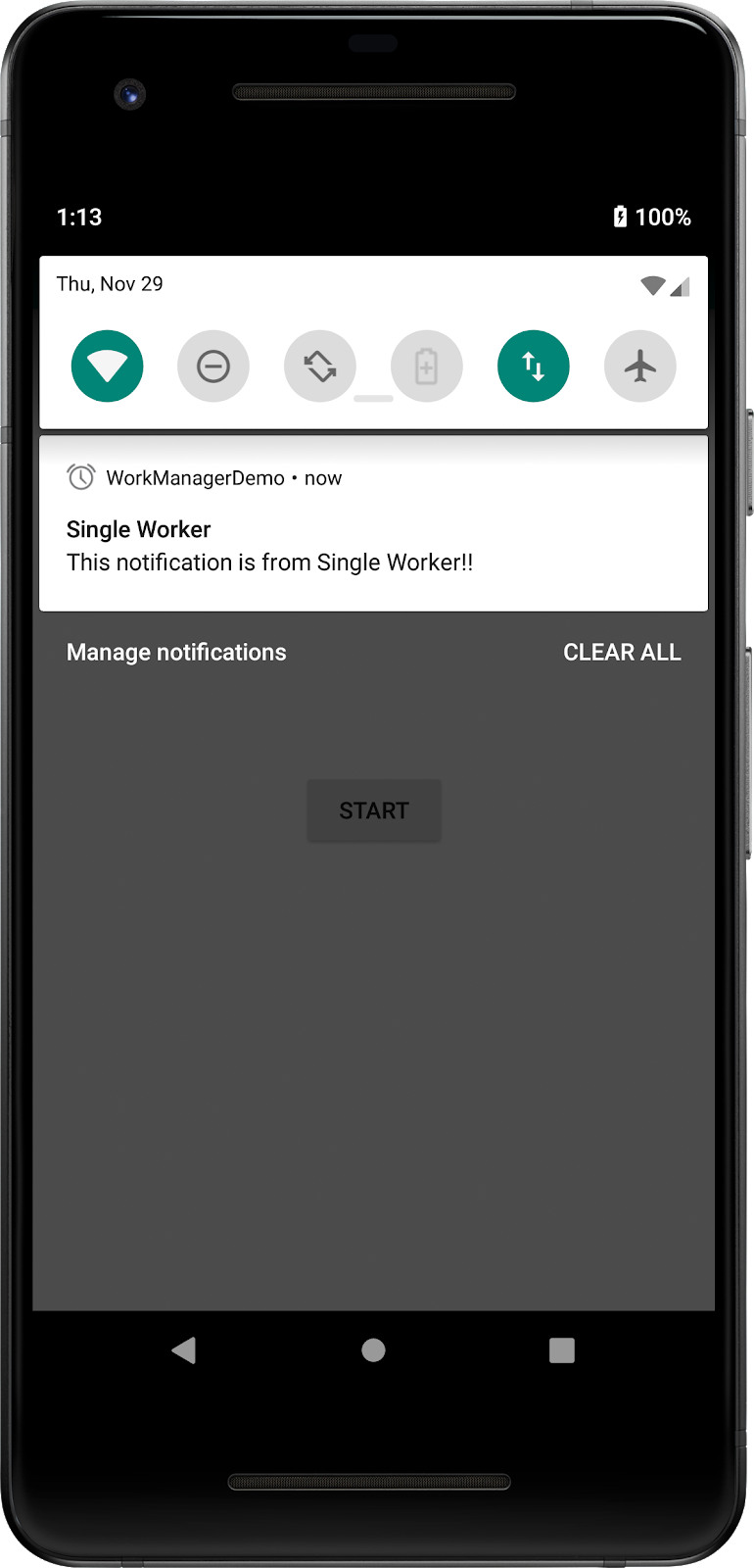 Android JetPack - Scheduling Tasks with WorkManager