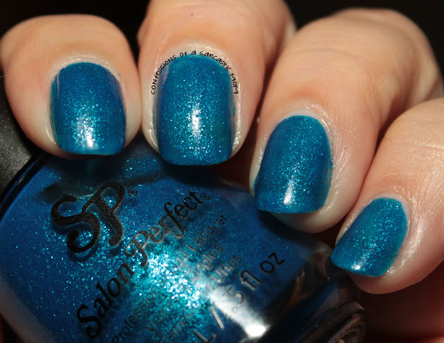 Salon Perfect Oceanic | 31 Days of Blue for Huntington's Awareness