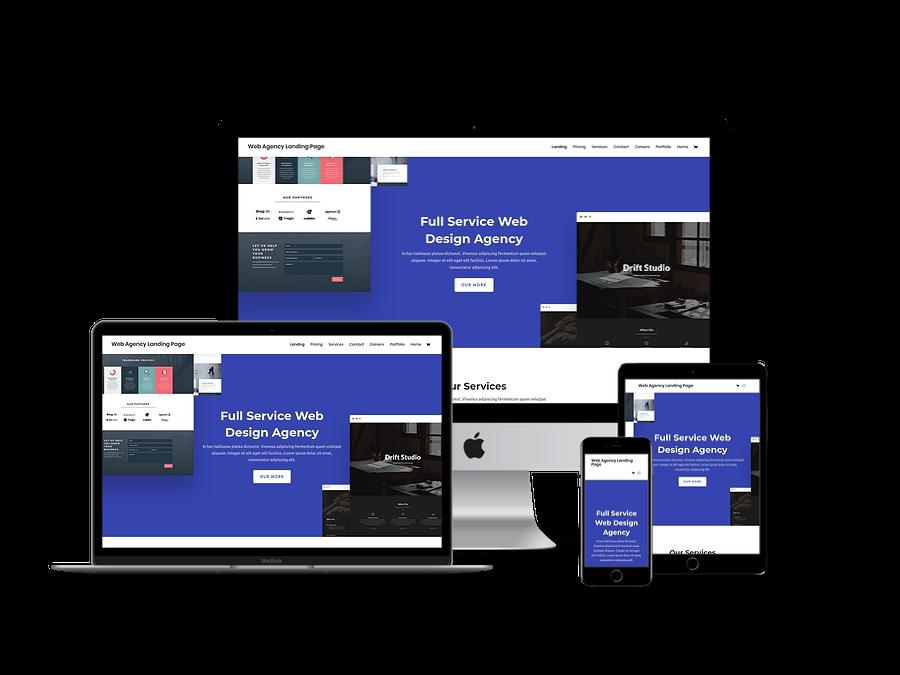 Contoh Template Website Company Profil 9