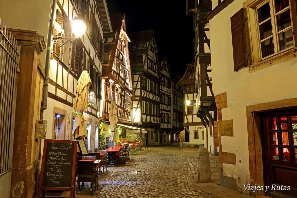 Estrasburgo de noche
