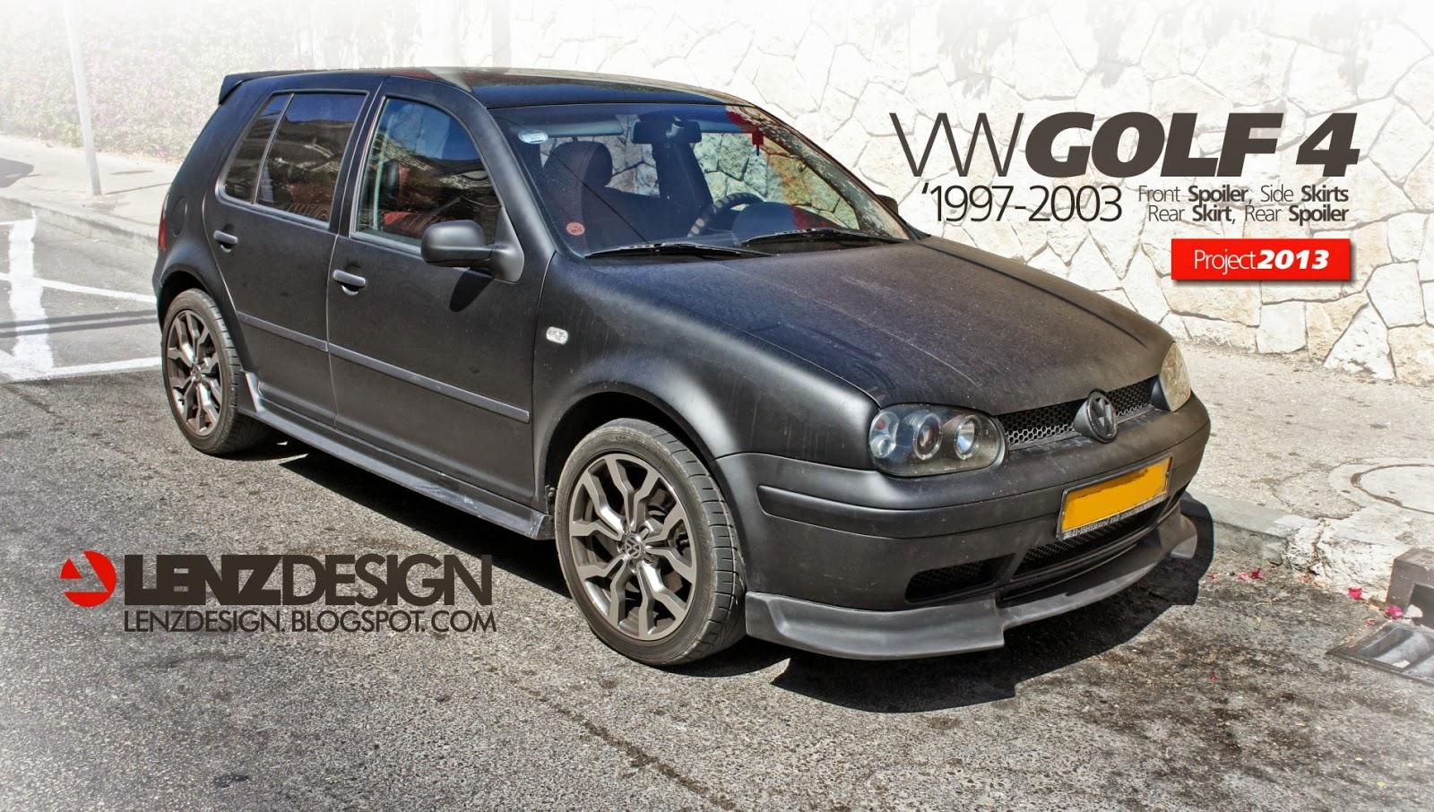 Vw Golf 4 Tuning Lenzdesign שיפורים חיצוניים לרכב Auto