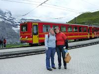 tren Jungfrau, Suiza, Jungfrau Railway, Switzerland, Train Jungfrau, Suisse, vuelta al mundo, round the world, La vuelta al mundo de Asun y Ricardo