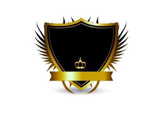 Logo Polos Perisai Mahkota Kuning