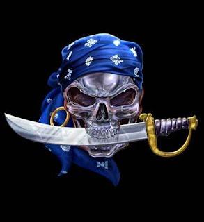 Skeleton-Skull: Pirate Skulls