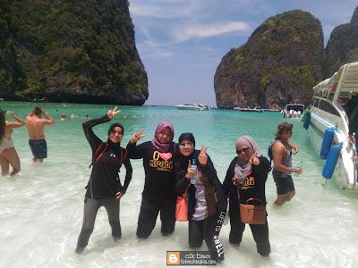 maya bay, krabi, thailand