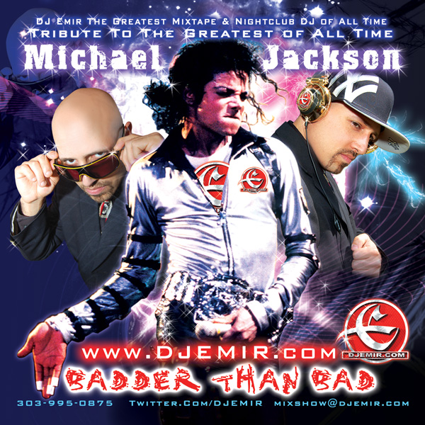 DJ Emir Michael Jackson Mixtape CD Cover